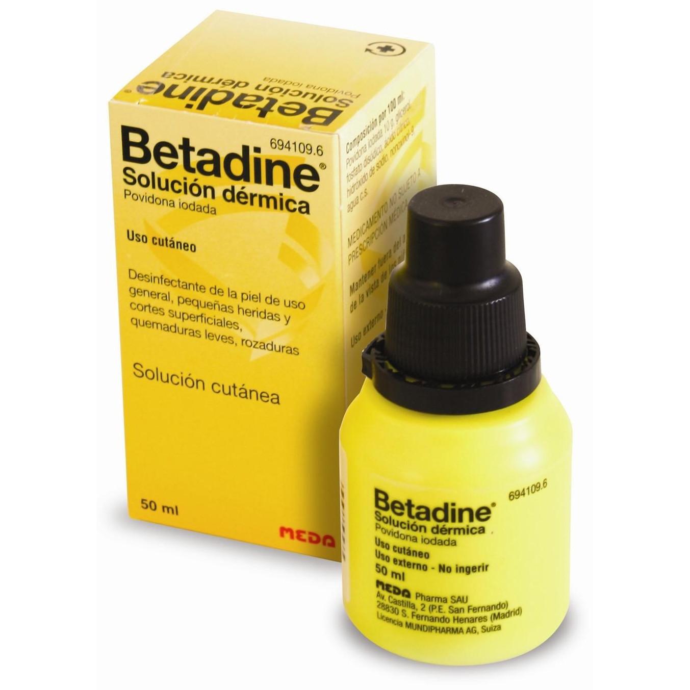 Iodine Betadine 5 Ml